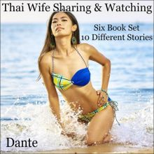 Thai Wife Sharing and Watching: Six Book Set - ...