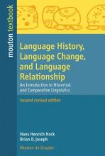 Language History, Language Change, and Language...